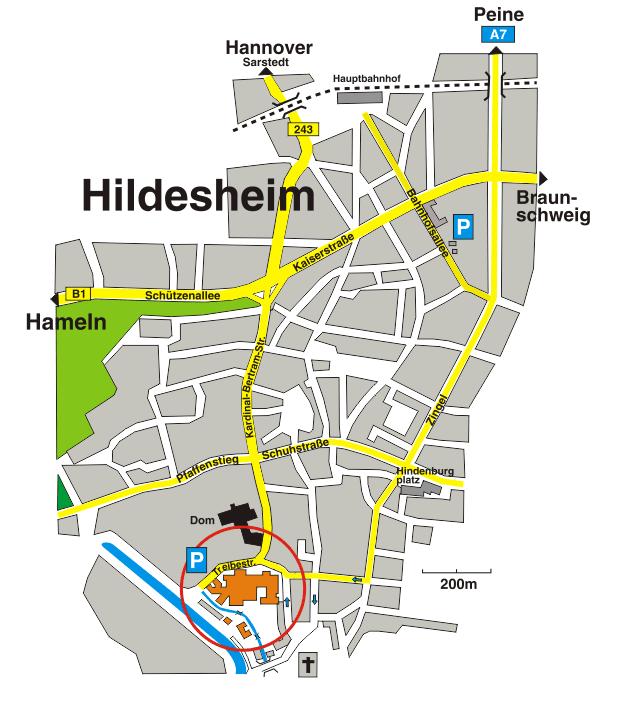 Anfahrt LASIK Zentrum Hildesheim